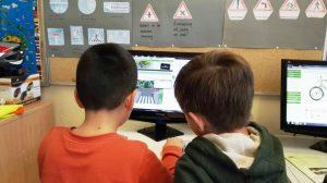 Das Radfahrausbildungs-Online Übungsportal wurde heute symbolisch in der GGS Heyden durch die Verkehrswacht Mönchengladbach e.V. übergeben und an alle Schulen gestartet