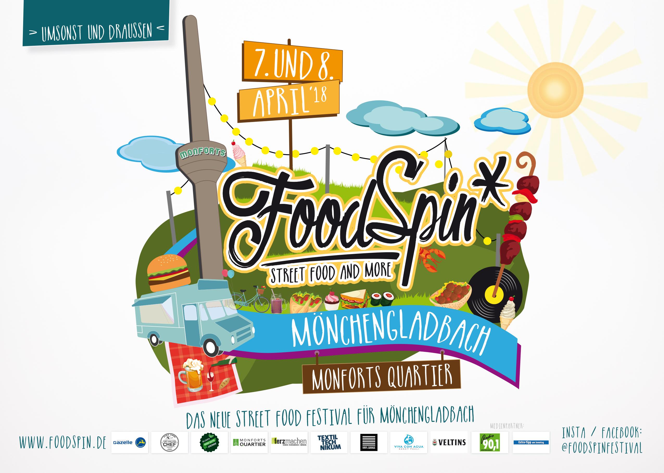 Food Spin 1 Internationales Street Food Festival In Mönchengladbach